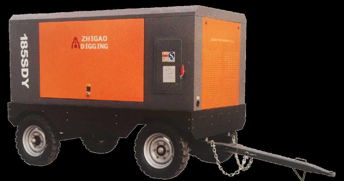 Yabo下载电动移动螺杆空气压缩机