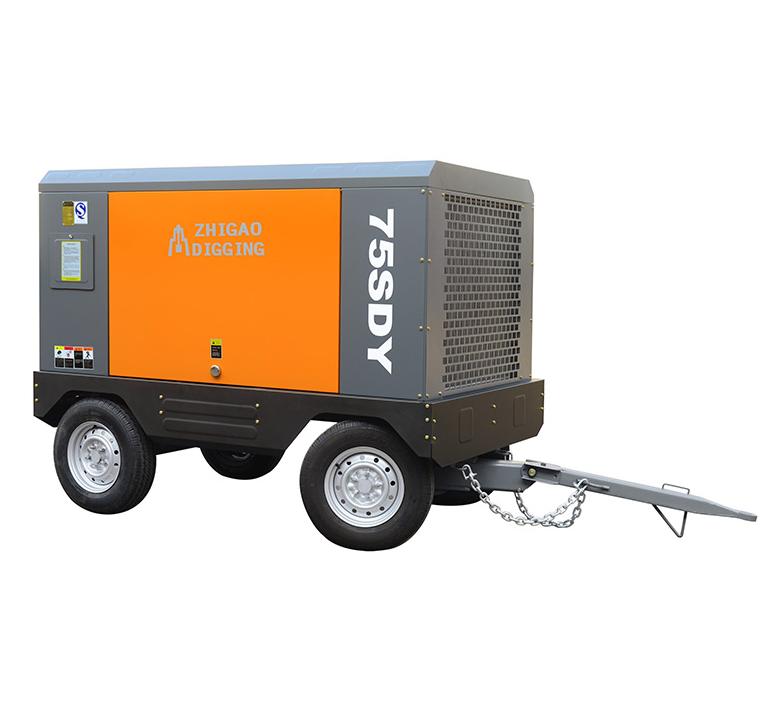 Yabo下载SDY电动移动螺杆空气压缩机